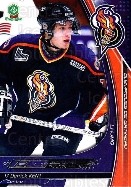 2003-04 Olympiques De Gatineau #13 Derrick Kent<br/>3 In Stock - $3.00 each - <a href=https://centericecollectibles.foxycart.com/cart?name=2003-04%20Olympiques%20De%20Gatineau%20%2313%20Derrick%20Kent...&quantity_max=3&price=$3.00&code=212440 class=foxycart> Buy it now! </a>