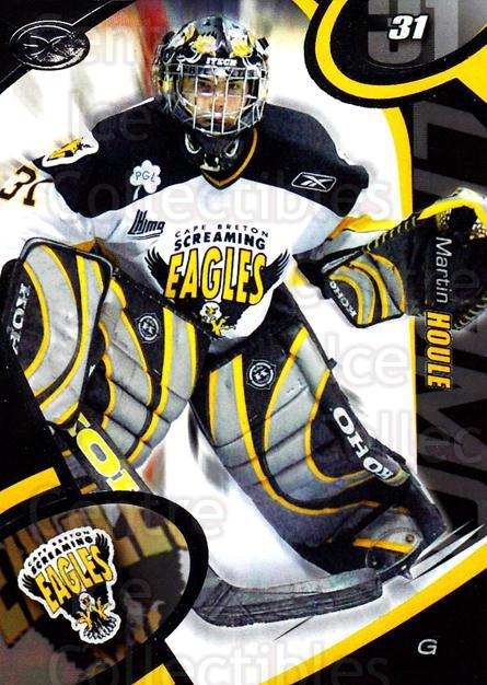 2004-05 Cape Breton Screaming Eagles #1 Martin Houle<br/>1 In Stock - $3.00 each - <a href=https://centericecollectibles.foxycart.com/cart?name=2004-05%20Cape%20Breton%20Screaming%20Eagles%20%231%20Martin%20Houle...&price=$3.00&code=212502 class=foxycart> Buy it now! </a>