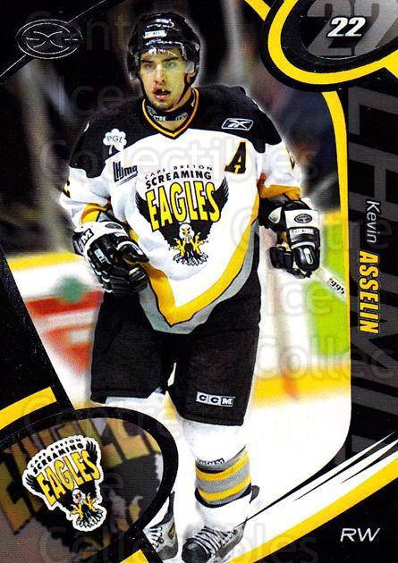 2004-05 Cape Breton Screaming Eagles #2 Kevin Asselin<br/>2 In Stock - $3.00 each - <a href=https://centericecollectibles.foxycart.com/cart?name=2004-05%20Cape%20Breton%20Screaming%20Eagles%20%232%20Kevin%20Asselin...&price=$3.00&code=212503 class=foxycart> Buy it now! </a>