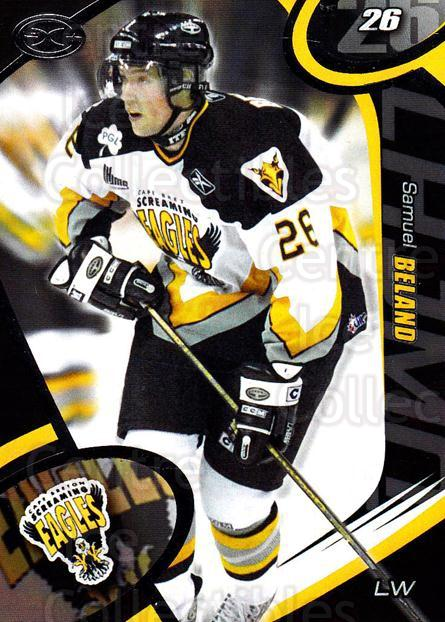 2004-05 Cape Breton Screaming Eagles #4 Samuel Beland<br/>2 In Stock - $3.00 each - <a href=https://centericecollectibles.foxycart.com/cart?name=2004-05%20Cape%20Breton%20Screaming%20Eagles%20%234%20Samuel%20Beland...&quantity_max=2&price=$3.00&code=212505 class=foxycart> Buy it now! </a>