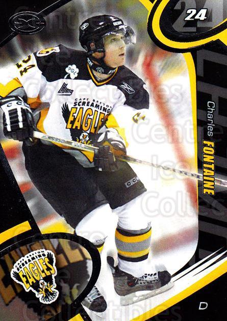 2004-05 Cape Breton Screaming Eagles #8 Charles Fontaine<br/>2 In Stock - $3.00 each - <a href=https://centericecollectibles.foxycart.com/cart?name=2004-05%20Cape%20Breton%20Screaming%20Eagles%20%238%20Charles%20Fontain...&quantity_max=2&price=$3.00&code=212509 class=foxycart> Buy it now! </a>