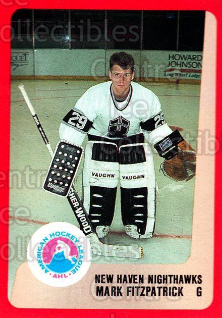 1988-89 ProCards AHL #209 Mark Fitzpatrick<br/>4 In Stock - $2.00 each - <a href=https://centericecollectibles.foxycart.com/cart?name=1988-89%20ProCards%20AHL%20%23209%20Mark%20Fitzpatric...&quantity_max=4&price=$2.00&code=21250 class=foxycart> Buy it now! </a>