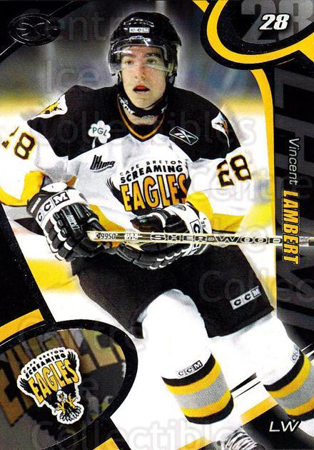 2004-05 Cape Breton Screaming Eagles #11 Vincent Lambert<br/>2 In Stock - $3.00 each - <a href=https://centericecollectibles.foxycart.com/cart?name=2004-05%20Cape%20Breton%20Screaming%20Eagles%20%2311%20Vincent%20Lambert...&price=$3.00&code=212512 class=foxycart> Buy it now! </a>