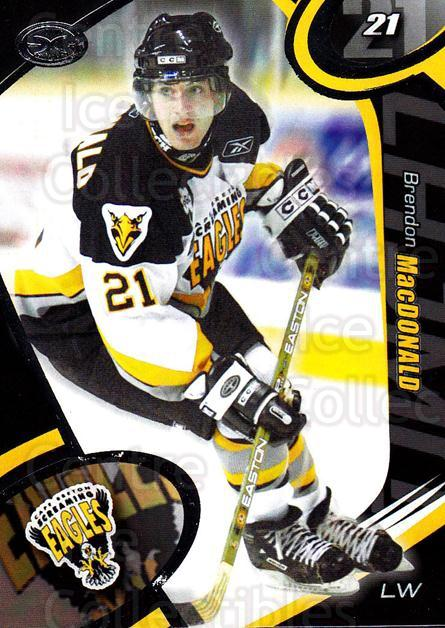 2004-05 Cape Breton Screaming Eagles #12 Brendon MacDonald<br/>1 In Stock - $3.00 each - <a href=https://centericecollectibles.foxycart.com/cart?name=2004-05%20Cape%20Breton%20Screaming%20Eagles%20%2312%20Brendon%20MacDona...&price=$3.00&code=212513 class=foxycart> Buy it now! </a>