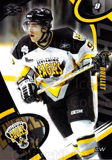 2004-05 Cape Breton Screaming Eagles #13 Dean Ouellet<br/>2 In Stock - $3.00 each - <a href=https://centericecollectibles.foxycart.com/cart?name=2004-05%20Cape%20Breton%20Screaming%20Eagles%20%2313%20Dean%20Ouellet...&price=$3.00&code=212514 class=foxycart> Buy it now! </a>