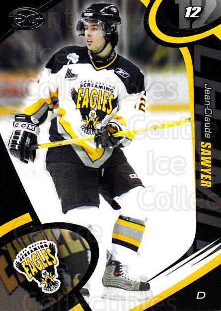 2004-05 Cape Breton Screaming Eagles #16 Jean-Claude Sawyer<br/>2 In Stock - $3.00 each - <a href=https://centericecollectibles.foxycart.com/cart?name=2004-05%20Cape%20Breton%20Screaming%20Eagles%20%2316%20Jean-Claude%20Saw...&price=$3.00&code=212517 class=foxycart> Buy it now! </a>