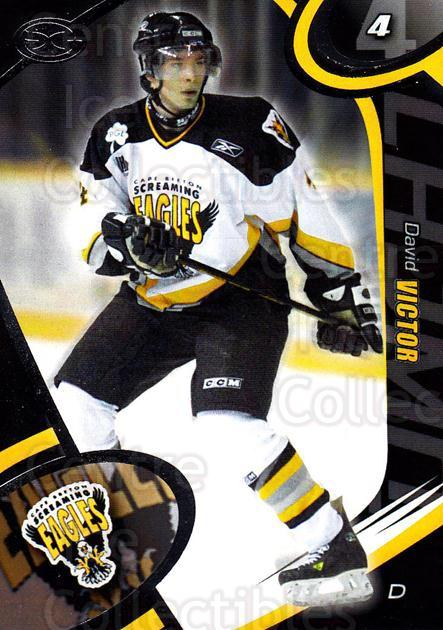2004-05 Cape Breton Screaming Eagles #20 David Victor<br/>1 In Stock - $3.00 each - <a href=https://centericecollectibles.foxycart.com/cart?name=2004-05%20Cape%20Breton%20Screaming%20Eagles%20%2320%20David%20Victor...&price=$3.00&code=212521 class=foxycart> Buy it now! </a>