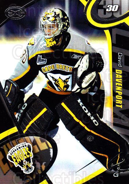 2004-05 Cape Breton Screaming Eagles #23 David Davenport<br/>1 In Stock - $3.00 each - <a href=https://centericecollectibles.foxycart.com/cart?name=2004-05%20Cape%20Breton%20Screaming%20Eagles%20%2323%20David%20Davenport...&price=$3.00&code=212524 class=foxycart> Buy it now! </a>
