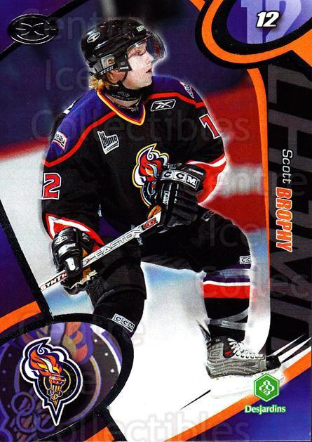 2004-05 Olympiques De Gatineau #4 Scott Brophy<br/>3 In Stock - $3.00 each - <a href=https://centericecollectibles.foxycart.com/cart?name=2004-05%20Olympiques%20De%20Gatineau%20%234%20Scott%20Brophy...&quantity_max=3&price=$3.00&code=212552 class=foxycart> Buy it now! </a>