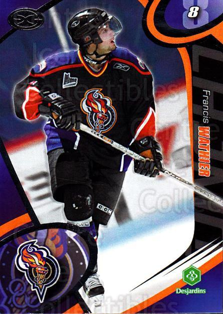 2004-05 Olympiques De Gatineau #6 Francis Wathier<br/>4 In Stock - $3.00 each - <a href=https://centericecollectibles.foxycart.com/cart?name=2004-05%20Olympiques%20De%20Gatineau%20%236%20Francis%20Wathier...&quantity_max=4&price=$3.00&code=212554 class=foxycart> Buy it now! </a>