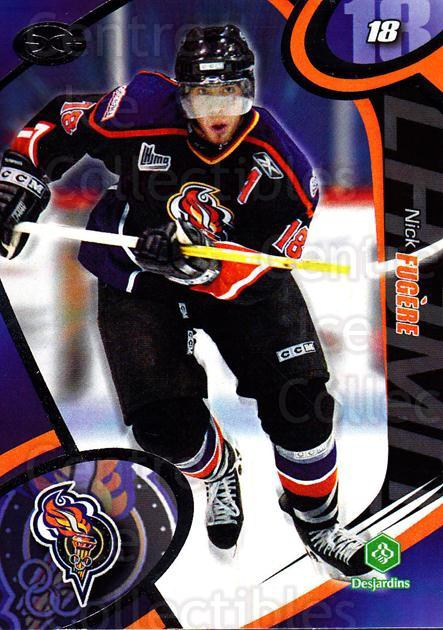 2004-05 Olympiques De Gatineau #10 Nick Fugere<br/>4 In Stock - $3.00 each - <a href=https://centericecollectibles.foxycart.com/cart?name=2004-05%20Olympiques%20De%20Gatineau%20%2310%20Nick%20Fugere...&quantity_max=4&price=$3.00&code=212558 class=foxycart> Buy it now! </a>