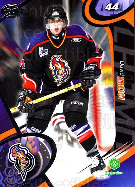 2004-05 Olympiques De Gatineau #15 David Krejci<br/>2 In Stock - $5.00 each - <a href=https://centericecollectibles.foxycart.com/cart?name=2004-05%20Olympiques%20De%20Gatineau%20%2315%20David%20Krejci...&quantity_max=2&price=$5.00&code=212563 class=foxycart> Buy it now! </a>