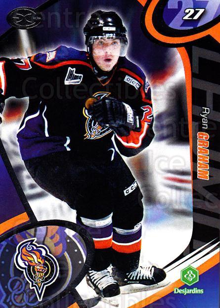 2004-05 Olympiques De Gatineau #17 Ryan Graham<br/>2 In Stock - $3.00 each - <a href=https://centericecollectibles.foxycart.com/cart?name=2004-05%20Olympiques%20De%20Gatineau%20%2317%20Ryan%20Graham...&quantity_max=2&price=$3.00&code=212565 class=foxycart> Buy it now! </a>