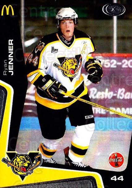 2005-06 Victoriaville Tigres #3 Ryan Jenner<br/>2 In Stock - $3.00 each - <a href=https://centericecollectibles.foxycart.com/cart?name=2005-06%20Victoriaville%20Tigres%20%233%20Ryan%20Jenner...&quantity_max=2&price=$3.00&code=212654 class=foxycart> Buy it now! </a>