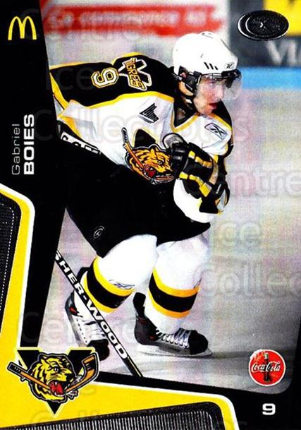 2005-06 Victoriaville Tigres #8 Gabriel Boies<br/>3 In Stock - $3.00 each - <a href=https://centericecollectibles.foxycart.com/cart?name=2005-06%20Victoriaville%20Tigres%20%238%20Gabriel%20Boies...&quantity_max=3&price=$3.00&code=212659 class=foxycart> Buy it now! </a>