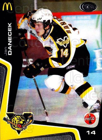 2005-06 Victoriaville Tigres #9 Jan Danecek<br/>3 In Stock - $3.00 each - <a href=https://centericecollectibles.foxycart.com/cart?name=2005-06%20Victoriaville%20Tigres%20%239%20Jan%20Danecek...&quantity_max=3&price=$3.00&code=212660 class=foxycart> Buy it now! </a>