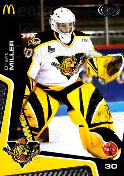 2005-06 Victoriaville Tigres #14 Brant Miller<br/>3 In Stock - $3.00 each - <a href=https://centericecollectibles.foxycart.com/cart?name=2005-06%20Victoriaville%20Tigres%20%2314%20Brant%20Miller...&quantity_max=3&price=$3.00&code=212665 class=foxycart> Buy it now! </a>