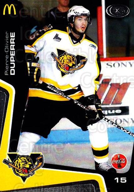2005-06 Victoriaville Tigres #16 Pierre-Olivier Duperre<br/>3 In Stock - $3.00 each - <a href=https://centericecollectibles.foxycart.com/cart?name=2005-06%20Victoriaville%20Tigres%20%2316%20Pierre-Olivier%20...&quantity_max=3&price=$3.00&code=212667 class=foxycart> Buy it now! </a>