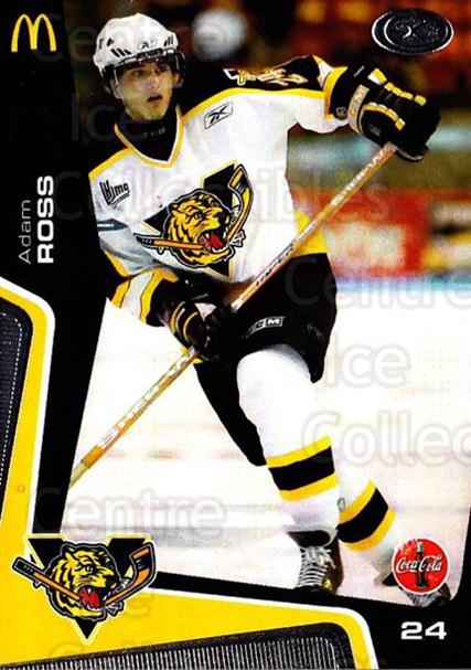 2005-06 Victoriaville Tigres #21 Adam Ross<br/>1 In Stock - $3.00 each - <a href=https://centericecollectibles.foxycart.com/cart?name=2005-06%20Victoriaville%20Tigres%20%2321%20Adam%20Ross...&quantity_max=1&price=$3.00&code=212672 class=foxycart> Buy it now! </a>