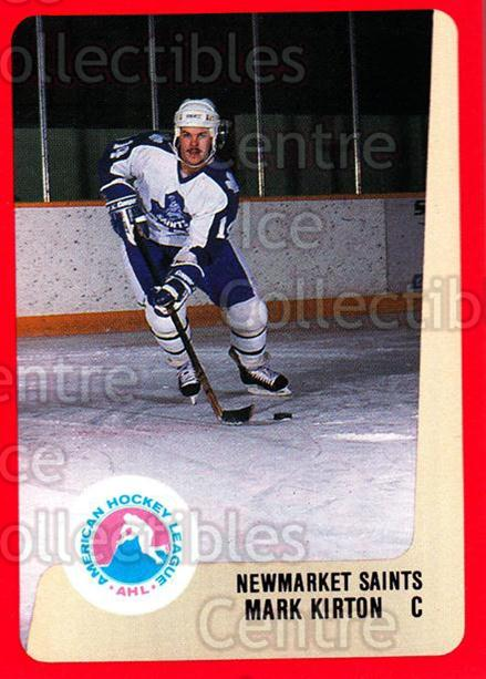 1988-89 ProCards AHL #227 Mark Kirton<br/>10 In Stock - $2.00 each - <a href=https://centericecollectibles.foxycart.com/cart?name=1988-89%20ProCards%20AHL%20%23227%20Mark%20Kirton...&quantity_max=10&price=$2.00&code=21269 class=foxycart> Buy it now! </a>