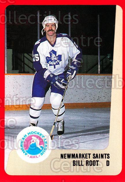 1988-89 ProCards AHL #229 Bill Root<br/>13 In Stock - $2.00 each - <a href=https://centericecollectibles.foxycart.com/cart?name=1988-89%20ProCards%20AHL%20%23229%20Bill%20Root...&quantity_max=13&price=$2.00&code=21271 class=foxycart> Buy it now! </a>