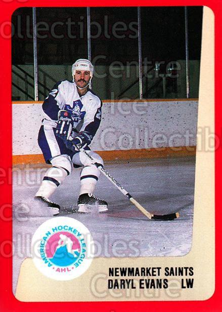 1988-89 ProCards AHL #231 Daryl Evans<br/>7 In Stock - $2.00 each - <a href=https://centericecollectibles.foxycart.com/cart?name=1988-89%20ProCards%20AHL%20%23231%20Daryl%20Evans...&quantity_max=7&price=$2.00&code=21273 class=foxycart> Buy it now! </a>