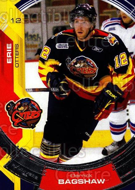 2006-07 Erie Otters #4 Derrick Bagshaw<br/>3 In Stock - $3.00 each - <a href=https://centericecollectibles.foxycart.com/cart?name=2006-07%20Erie%20Otters%20%234%20Derrick%20Bagshaw...&quantity_max=3&price=$3.00&code=212792 class=foxycart> Buy it now! </a>