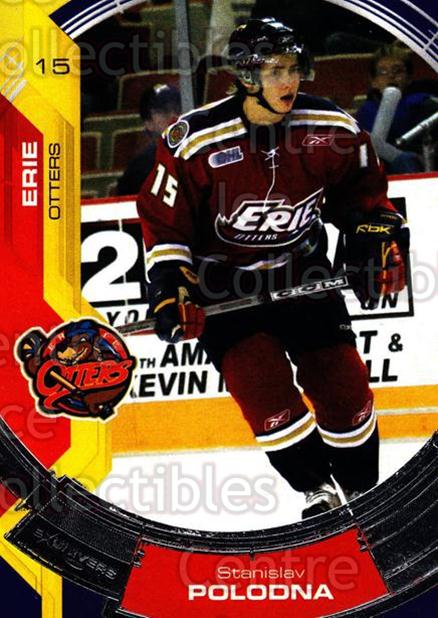 2006-07 Erie Otters #6 Stanislav Polodna<br/>4 In Stock - $3.00 each - <a href=https://centericecollectibles.foxycart.com/cart?name=2006-07%20Erie%20Otters%20%236%20Stanislav%20Polod...&price=$3.00&code=212794 class=foxycart> Buy it now! </a>