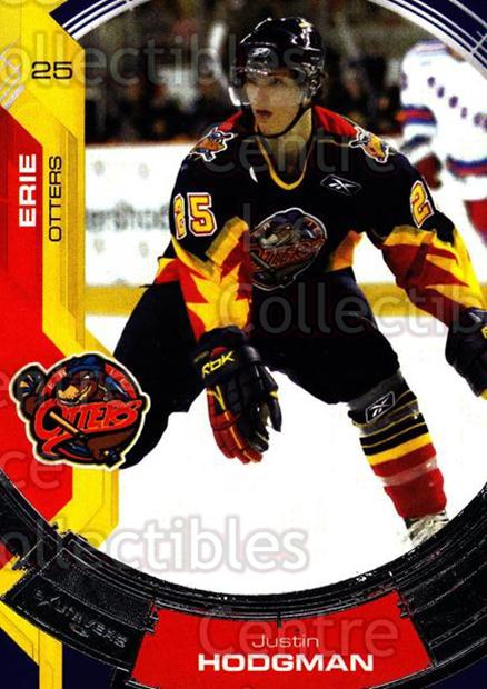 2006-07 Erie Otters #8 Justin Hodgman<br/>1 In Stock - $3.00 each - <a href=https://centericecollectibles.foxycart.com/cart?name=2006-07%20Erie%20Otters%20%238%20Justin%20Hodgman...&price=$3.00&code=212796 class=foxycart> Buy it now! </a>