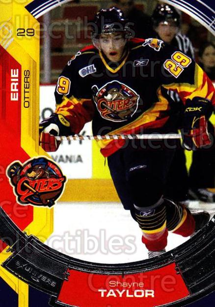 2006-07 Erie Otters #10 Shayne Taylor<br/>4 In Stock - $3.00 each - <a href=https://centericecollectibles.foxycart.com/cart?name=2006-07%20Erie%20Otters%20%2310%20Shayne%20Taylor...&price=$3.00&code=212798 class=foxycart> Buy it now! </a>