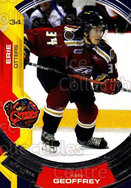 2006-07 Erie Otters #11 Kelly Geoffrey<br/>4 In Stock - $3.00 each - <a href=https://centericecollectibles.foxycart.com/cart?name=2006-07%20Erie%20Otters%20%2311%20Kelly%20Geoffrey...&price=$3.00&code=212799 class=foxycart> Buy it now! </a>