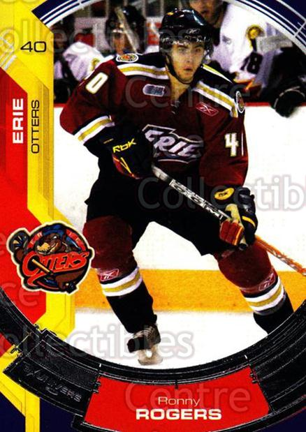 2006-07 Erie Otters #14 Ronny Rogers<br/>4 In Stock - $3.00 each - <a href=https://centericecollectibles.foxycart.com/cart?name=2006-07%20Erie%20Otters%20%2314%20Ronny%20Rogers...&price=$3.00&code=212802 class=foxycart> Buy it now! </a>