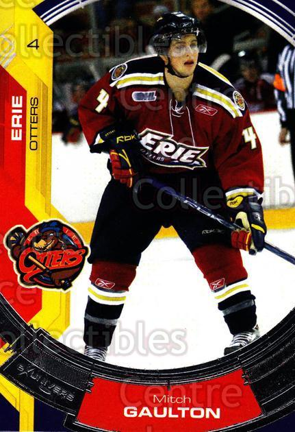 2006-07 Erie Otters #16 Mitch Gaulton<br/>4 In Stock - $3.00 each - <a href=https://centericecollectibles.foxycart.com/cart?name=2006-07%20Erie%20Otters%20%2316%20Mitch%20Gaulton...&price=$3.00&code=212804 class=foxycart> Buy it now! </a>