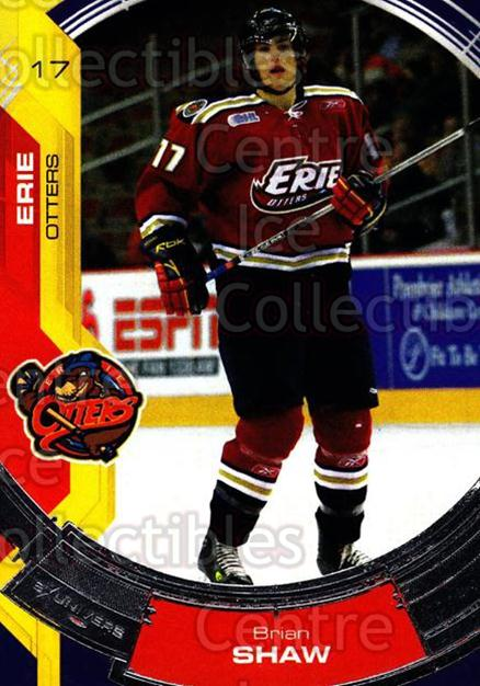 2006-07 Erie Otters #19 Brian Shaw<br/>4 In Stock - $3.00 each - <a href=https://centericecollectibles.foxycart.com/cart?name=2006-07%20Erie%20Otters%20%2319%20Brian%20Shaw...&price=$3.00&code=212807 class=foxycart> Buy it now! </a>