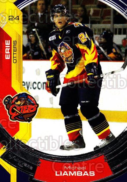 2006-07 Erie Otters #20 Michael Liambas<br/>2 In Stock - $3.00 each - <a href=https://centericecollectibles.foxycart.com/cart?name=2006-07%20Erie%20Otters%20%2320%20Michael%20Liambas...&price=$3.00&code=212808 class=foxycart> Buy it now! </a>