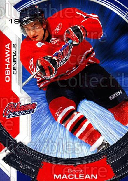 2006-07 Oshawa Generals #8 Brett MacLean<br/>13 In Stock - $3.00 each - <a href=https://centericecollectibles.foxycart.com/cart?name=2006-07%20Oshawa%20Generals%20%238%20Brett%20MacLean...&quantity_max=13&price=$3.00&code=212847 class=foxycart> Buy it now! </a>