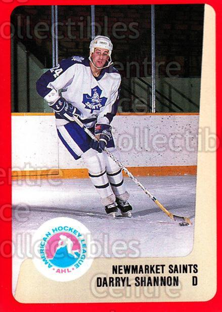 1988-89 ProCards AHL #243 Darryl Shannon<br/>8 In Stock - $2.00 each - <a href=https://centericecollectibles.foxycart.com/cart?name=1988-89%20ProCards%20AHL%20%23243%20Darryl%20Shannon...&quantity_max=8&price=$2.00&code=21285 class=foxycart> Buy it now! </a>