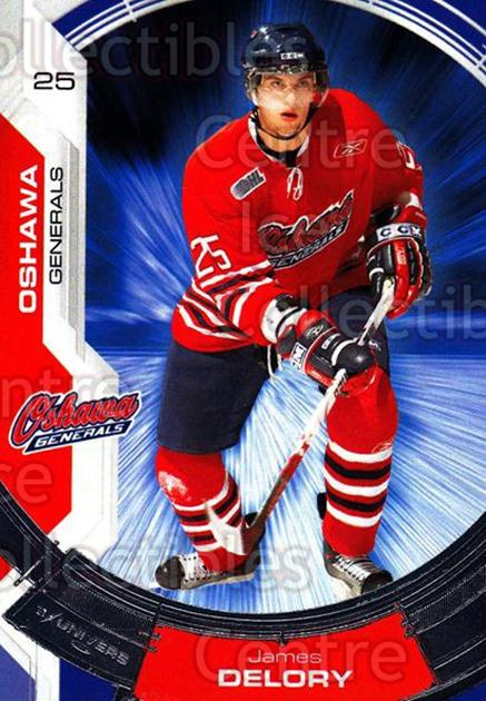 2006-07 Oshawa Generals #21 James Delory<br/>15 In Stock - $3.00 each - <a href=https://centericecollectibles.foxycart.com/cart?name=2006-07%20Oshawa%20Generals%20%2321%20James%20Delory...&quantity_max=15&price=$3.00&code=212860 class=foxycart> Buy it now! </a>