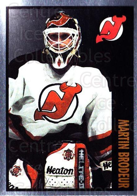 1997-98 Panini Stickers #124 Martin Brodeur<br/>1 In Stock - $5.00 each - <a href=https://centericecollectibles.foxycart.com/cart?name=1997-98%20Panini%20Stickers%20%23124%20Martin%20Brodeur...&quantity_max=1&price=$5.00&code=212886 class=foxycart> Buy it now! </a>