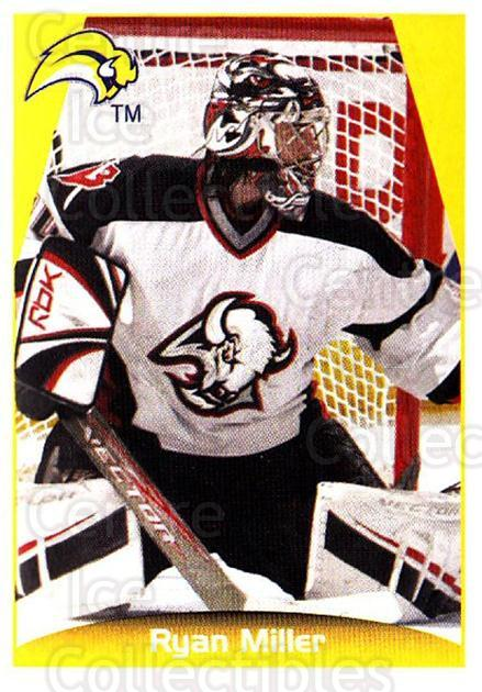 2006-07 Panini Stickers #28 Ryan Miller<br/>2 In Stock - $1.00 each - <a href=https://centericecollectibles.foxycart.com/cart?name=2006-07%20Panini%20Stickers%20%2328%20Ryan%20Miller...&quantity_max=2&price=$1.00&code=212928 class=foxycart> Buy it now! </a>
