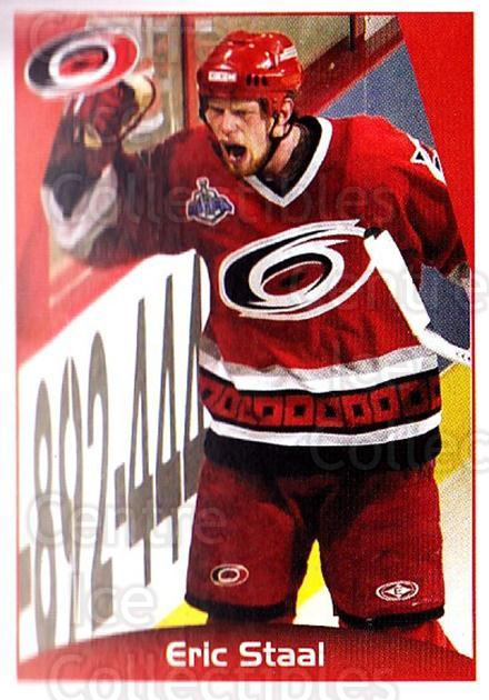 2006-07 Panini Stickers #43 Eric Staal<br/>1 In Stock - $1.00 each - <a href=https://centericecollectibles.foxycart.com/cart?name=2006-07%20Panini%20Stickers%20%2343%20Eric%20Staal...&quantity_max=1&price=$1.00&code=212938 class=foxycart> Buy it now! </a>