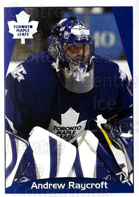 2006-07 Panini Stickers #160 Andrew Raycroft<br/>2 In Stock - $1.00 each - <a href=https://centericecollectibles.foxycart.com/cart?name=2006-07%20Panini%20Stickers%20%23160%20Andrew%20Raycroft...&quantity_max=2&price=$1.00&code=212996 class=foxycart> Buy it now! </a>
