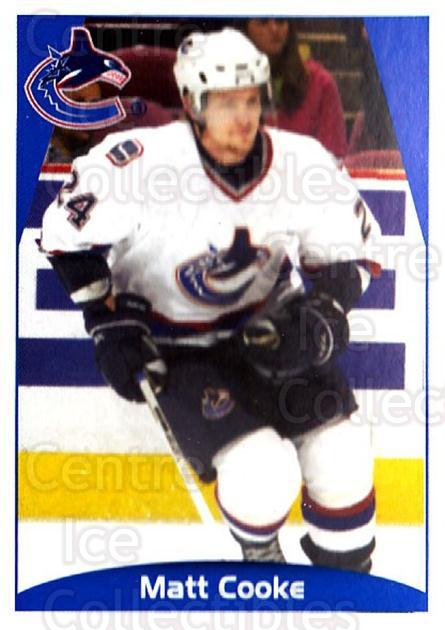 2006-07 Panini Stickers #360 Matt Cooke<br/>1 In Stock - $1.00 each - <a href=https://centericecollectibles.foxycart.com/cart?name=2006-07%20Panini%20Stickers%20%23360%20Matt%20Cooke...&quantity_max=1&price=$1.00&code=213072 class=foxycart> Buy it now! </a>