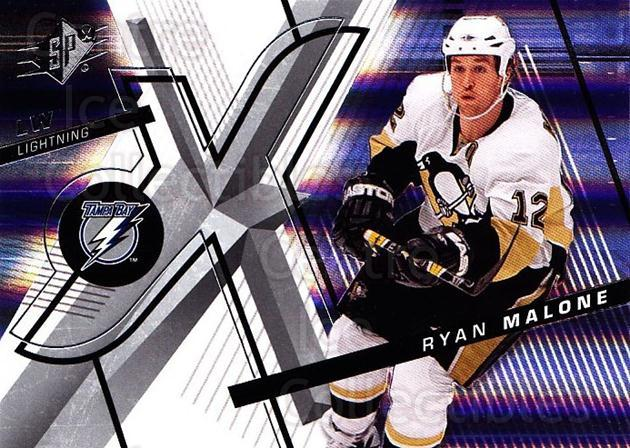 2008-09 Spx #8 Ryan Malone<br/>3 In Stock - $1.00 each - <a href=https://centericecollectibles.foxycart.com/cart?name=2008-09%20Spx%20%238%20Ryan%20Malone...&quantity_max=3&price=$1.00&code=213245 class=foxycart> Buy it now! </a>