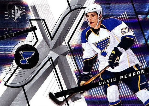 2008-09 Spx #11 David Perron<br/>4 In Stock - $1.00 each - <a href=https://centericecollectibles.foxycart.com/cart?name=2008-09%20Spx%20%2311%20David%20Perron...&quantity_max=4&price=$1.00&code=213248 class=foxycart> Buy it now! </a>