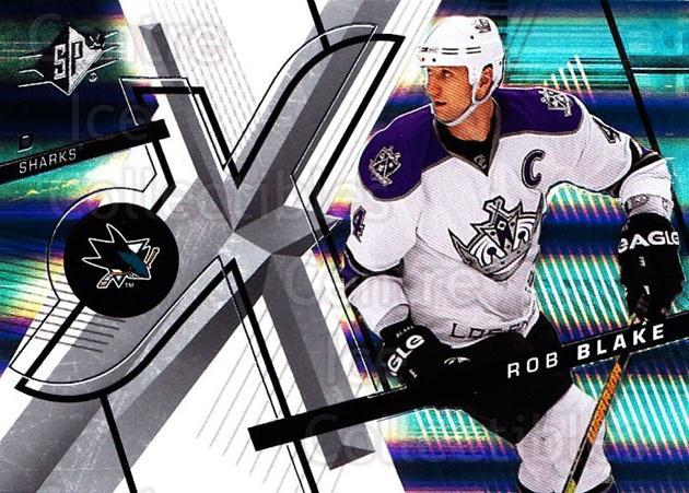 2008-09 Spx #16 Rob Blake<br/>5 In Stock - $1.00 each - <a href=https://centericecollectibles.foxycart.com/cart?name=2008-09%20Spx%20%2316%20Rob%20Blake...&quantity_max=5&price=$1.00&code=213253 class=foxycart> Buy it now! </a>
