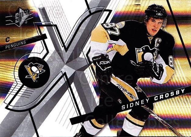 2008-09 Spx #18 Sidney Crosby<br/>1 In Stock - $3.00 each - <a href=https://centericecollectibles.foxycart.com/cart?name=2008-09%20Spx%20%2318%20Sidney%20Crosby...&quantity_max=1&price=$3.00&code=213255 class=foxycart> Buy it now! </a>