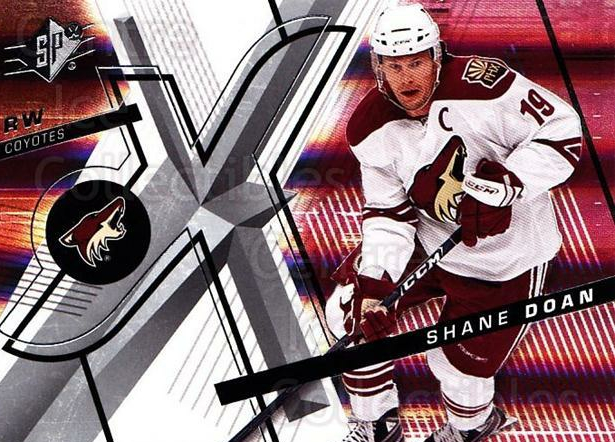 2008-09 Spx #22 Shane Doan<br/>4 In Stock - $1.00 each - <a href=https://centericecollectibles.foxycart.com/cart?name=2008-09%20Spx%20%2322%20Shane%20Doan...&quantity_max=4&price=$1.00&code=213259 class=foxycart> Buy it now! </a>