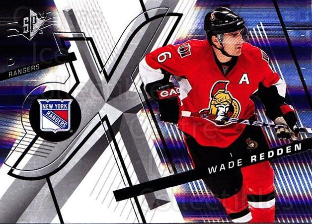 2008-09 Spx #34 Wade Redden<br/>5 In Stock - $1.00 each - <a href=https://centericecollectibles.foxycart.com/cart?name=2008-09%20Spx%20%2334%20Wade%20Redden...&quantity_max=5&price=$1.00&code=213271 class=foxycart> Buy it now! </a>