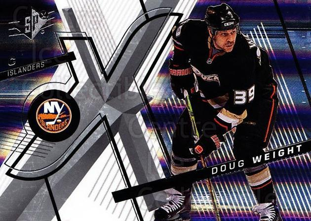2008-09 Spx #38 Doug Weight<br/>5 In Stock - $1.00 each - <a href=https://centericecollectibles.foxycart.com/cart?name=2008-09%20Spx%20%2338%20Doug%20Weight...&quantity_max=5&price=$1.00&code=213275 class=foxycart> Buy it now! </a>
